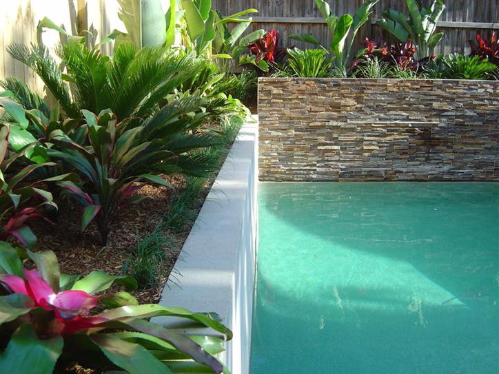 Garden landscape design by alliance landscape group sydney for Family garden pool